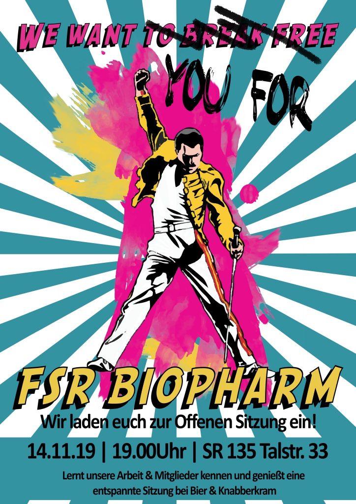Offene Sitzung des FSR BioPharm