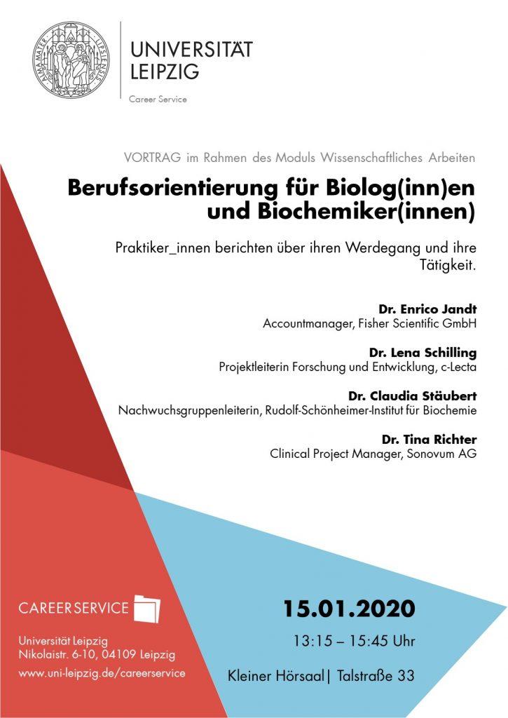 Berufsorientierung Biologie und Biochemie